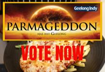 Parmi Geelong Vote food
